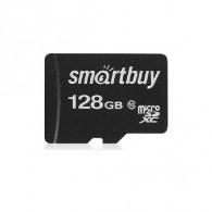 Карта памяти microSDHC SmartBuy 128Gb Class 10 UHS-l без адапт (SDXC)
