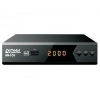 Ресивер цифровой DVB-T2 HD Сигнал HD-300 (металл, дисплей)