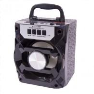 Колонка портативная MS-233BT (Bluetooth/USB /SD/FM/дисплей) черная