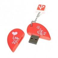 Флэш-диск SmartBuy 16GB USB 2.0 Сердце