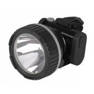 Фонарь Jazzway AccuH7-L3W LED Li-ion черный налобный
