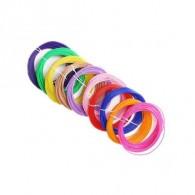 Комплект ABS-пластика для 3D ручки, 10 цветов по 10 метров