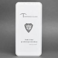 Защитное стекло 2,5D для Xiaomi Redmi Note 5 белое (86992)