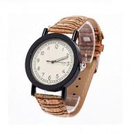 Часы наручные женские пробковый браслет (115446, 115447, 115448)