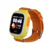 Смарт-часы детские с GPS трекером GW100 (желтые)