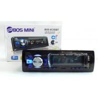 Автомагнитола 1 дин BOS-6C5DBT (SD, USB, Bluetooth)