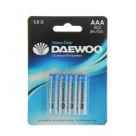 Батарейка Daewoo R03 BL 4/40/960