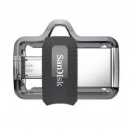 Флэш-диск SanDisk 16GB USB 3.0 Dual Drive m 3.0 (micro + Type A) OTG