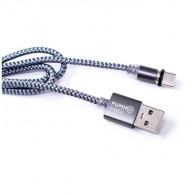 Кабель USB- Type-C 1м магнитный Fumiko MC-1