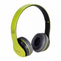 Наушники-плеер Eltronic 4458 (microSD, Bluetooth) зеленые