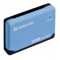 Картридер Defender Ultra 2.0 (SDHC\microSDHC\M2\CF\xD\MS) (83500)