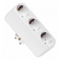 Разветвитель JAZZway электрический 3розетки AD-3G-T (220V,16А)