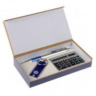 Подарочный набор (ручка+фонарик+калькулятор) (592580)