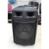 Колонка портативная QS-82 (Bluetooth/USB /microSD/FM/микрофон) чер