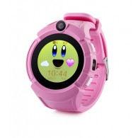 Smart-часы Q610S детские с GPS трекером розовые