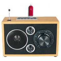 Радиоприемник БЗРП РП-301 (3*R20) 220V (USB+SD)