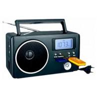 Радиоприемник БЗРП РП-204 УКВ, 220V, 4*R20 (USB+SD) стереозвук, дисплей