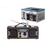 Радиоприемник БЗРП РП-308 (4*R20) 220V (USB+SD) стереозвук