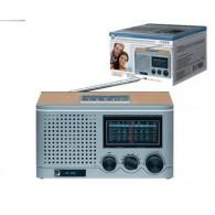 Радиоприемник БЗРП РП-309 (4*R20) 220V (USB+SD) стереозвук