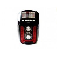 Радиоприемник M-U30 (USB+microSD,фонарь) черный