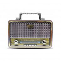 Радиоприемник MD-1908BT (Bluetooth/USB /SD/microSD/FM/акб/4*R20) зол Kemai