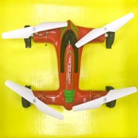 Квадрокоптер (форма машины-2) 4 канала, 6 осей, 3 реж.скорости Safeguard