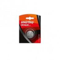 Батарейка SmartBuy CR 1620 BL-1\12