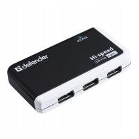 Хаб USB Defender Quadro Infix 4 порта (83504)
