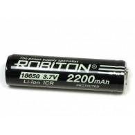 Аккумулятор Robiton 3.7v 2200mAh ICR Li18650 с защитой