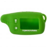 Чехол для сигнализации силиконовый Томагавк TW9010\9020\9030 зеленый