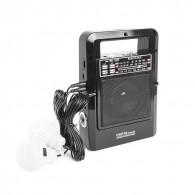 Радиоприемник Сигнал Vikend Traveler (USB/microSD/фонарь, 220V,2*R20, акб 1200)