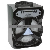 Колонка портативная MS-240BT (Bluetooth/USB /SD/FM/дисплей) черная