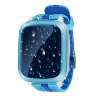 Smart-часы DS18 Hello детские с GPS трекером голуб. влагозащ, противоуд