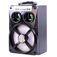 Колонка портативная MS-167BT (Bluetooth/USB /SD/FM/дисплей) черная
