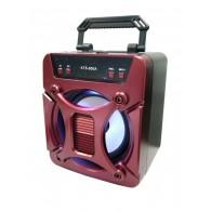 Колонка портативная KTS-850 (USB\microSD\Bluetooth) красная