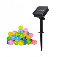 Светильник садовый Фаzа SLR-G05-30M (гирлянда-шарики, мультицвет) 30 диодов