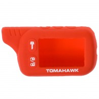 Чехол для сигнализации силиконовый Томагавк TZ9010\9020\9030 красный