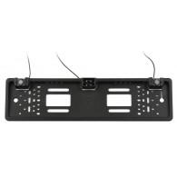 Рамка для номера с камерой заднего вида +парктроник (125°) H100