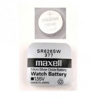 Батарейка Maxell SR 626 SW (377) BL 1/10