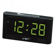 Часы электронные 732-2 (USB+2*ААА, зел.цифры)