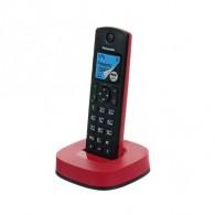 Телефон беспроводной Panasonic KX-TGC310RUR красный