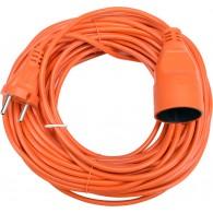 Удлинитель-шнур 10м Спутник (1 роз. 10А)