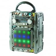 Радиоприемник RD-066U (Fm/BT/USB/microSD/220V/2*R20) цветной RSDO