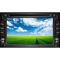 Автомагнитола 2 дин Goodbee 7803 с GPS (Fm, CD, DVD,USB, SD, Aux)