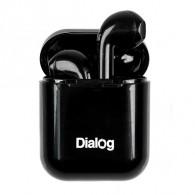Гарнитура Bluetooth Dialog ES-25 (вакуумные наушники) черные (102950)