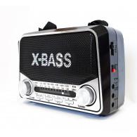 Радиоприемник VX-311 (Fm/microSD/AUX) чер VXR
