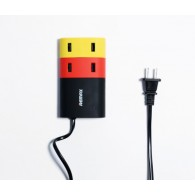 Адаптер 220V->4*USB 2USB*1A+2USB*2.1A Remax SafeEnough
