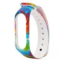 Ремешок для фитнес-браслета Mi3\Mi4 разноцветный