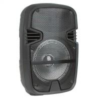 "Колонка портативная 8"" EL8-01 (Bluetooth/USB /microSD/FM/ПДУ/ 1 беспр.микр) чер"