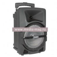 """Колонка портативная 8"""" OM&S K13 (Bluetooth/USB /microSD) чер"""